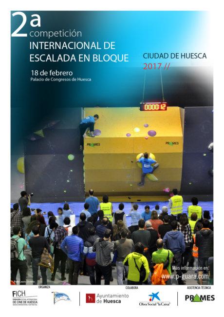 II Competición Internacional de escalada en bloque Ciudad de Huesca