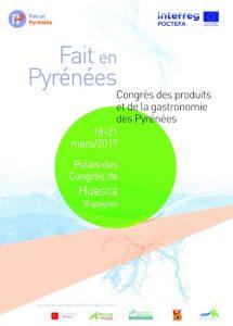 I Congreso del Producto y la Gastronomía de los Pirineos FRA