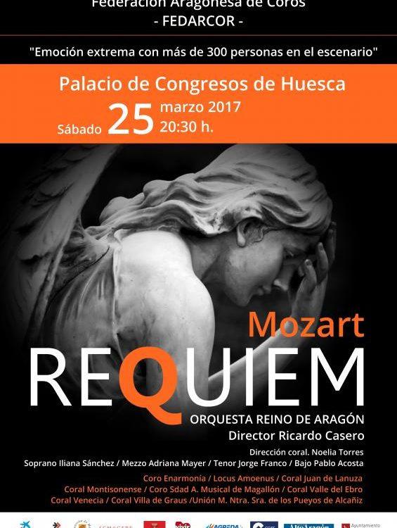 Réquiem de Mozart - Orquesta Reino de Aragón y Fedarcor