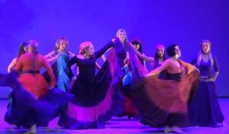xxv muestra de danza y folclore ciudad de huesca