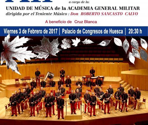 Xii Concierto Invierno Unidad de Música de la Academia General Militar